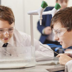 prep school for boys science experiment