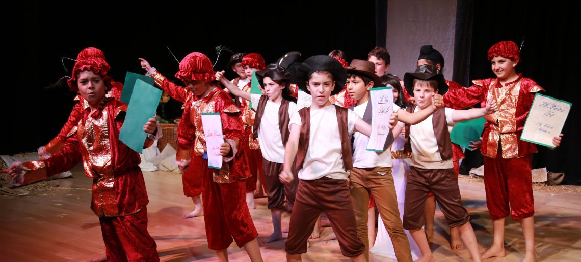 drama class boys prep school richmond