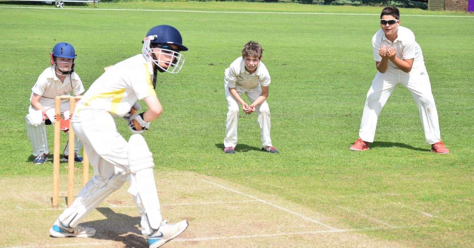 boys prep school games cricket