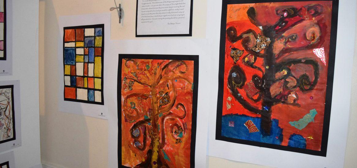 Display of Art work
